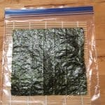 Nori bamboo rolling mat