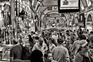 crowd shopping