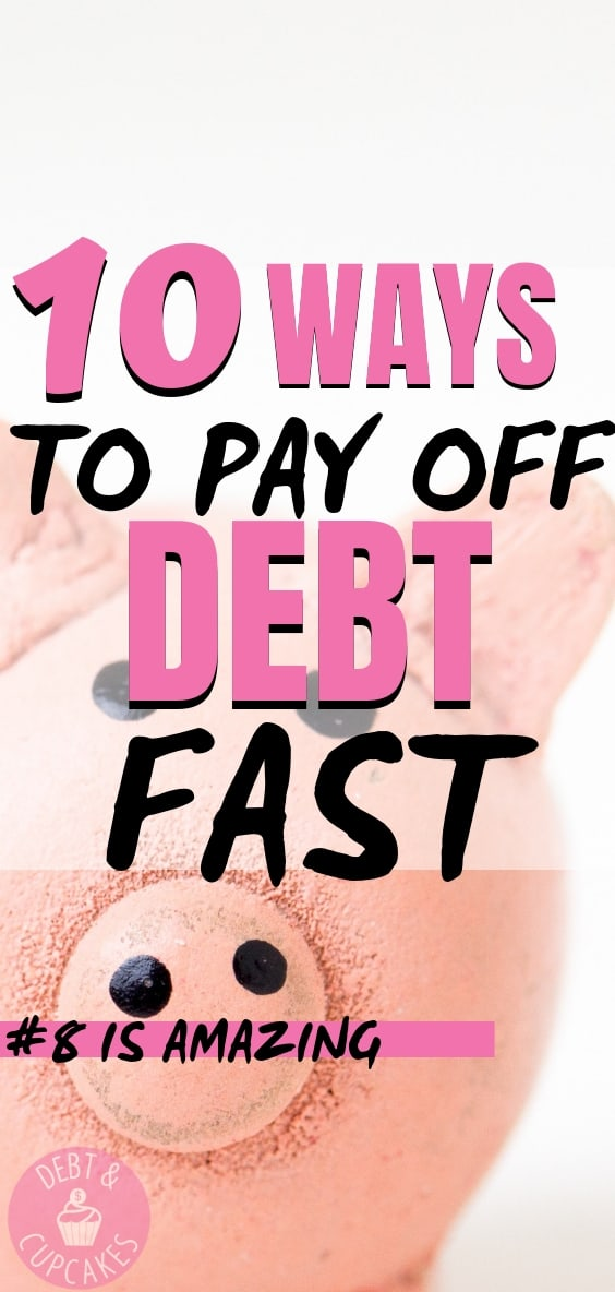10 ways to pay off debt fast