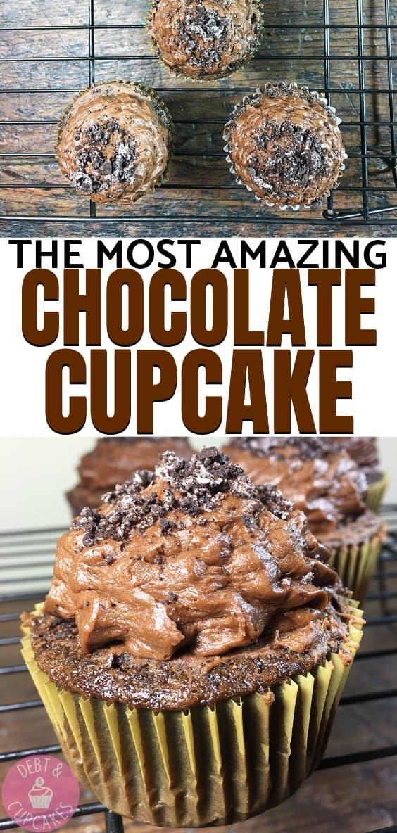 Chocolate Cupcake Chocolate Buttercream
