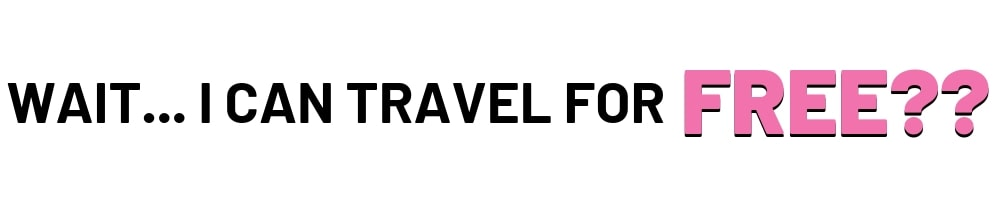 I Can Travel For Free