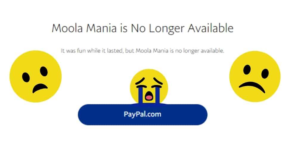PayPal Moola Mania